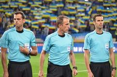 KHARKIV UKRAINA - September 02, 2017: Domare David Fernandez B Arkivfoton