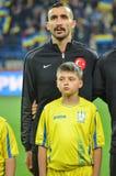 KHARKIV UKRAINA - September 02, 2017: Mehmet Topal under fet Royaltyfri Foto