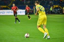KHARKIV UKRAINA - September 02, 2017: Serghey Krivtsov under Arkivfoton