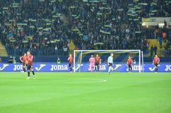 KHARKIV UKRAINA - September 02, 2017: Team Turkey efter en misse arkivfoton