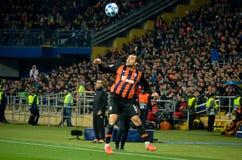 KHARKIV, UKRAINE - 23 octobre 2018 : Joueur d'Ismaily pendant la correspondance de Ligue des Champions entre Shakhtar Donetsk con photographie stock