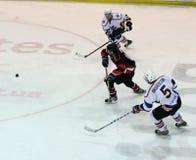 Kharkov- Donbass ice hockey match Stock Photo