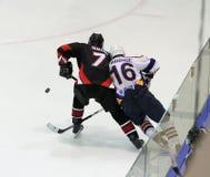 Kharkov- Donbass ice hockey match Stock Image