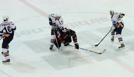 kharkov för donbasshockeyis match Arkivbilder