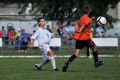 Kharkov - juego de fútbol del graduado de Novi Imágenes de archivo libres de regalías