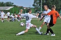 Kharkov - juego de fútbol del graduado de Novi Imagen de archivo