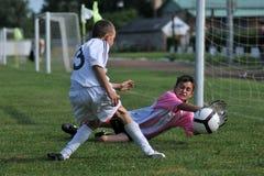 Kharkov - juego de fútbol del graduado de Novi Fotografía de archivo