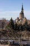 Kharkov piękny krajobraz fotografia royalty free