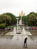 Kharkov is the spiritual, youth and cultural center of Ukraine. royalty free stock photo