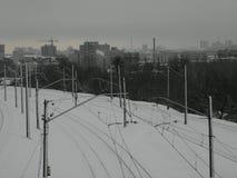 Kharkov stadssikt Arkivfoton