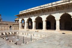 Khas Mahal at Agra Fort Stock Photo