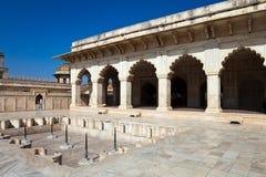 Khas Mahal at Agra Fort stock photo