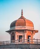 Khas Mahal in Agra-Fort, Indien lizenzfreie stockfotografie