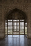 Khas Mahal inom det Agra fortet india Royaltyfri Bild