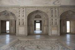 Khas Mahal inom det Agra fortet india Royaltyfri Fotografi