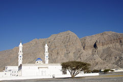 Khasab Moschee Oman lizenzfreie stockfotos