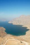 Khasab strand i Oman Royaltyfri Fotografi