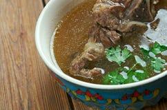 Khash. Dish of boiled cow's feet. traditional dish in Afghanistan, Armenia, Azerbaijan, Bosnia and Hercegovina, Bulgaria, Georgia, Iran, Iraq, and Turkey Stock Photography