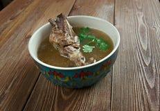 Khash. Dish of boiled cow's feet. traditional dish in Afghanistan, Armenia, Azerbaijan, Bosnia and Hercegovina, Bulgaria, Georgia, Iran, Iraq, and Turkey Royalty Free Stock Photos