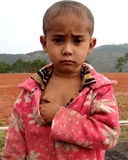 Khasi男婴的画象 图库摄影