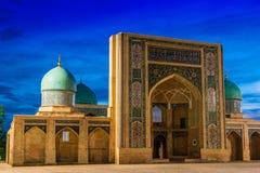 Khast Imam Mosque i Tasjkent, Uzbekistan royaltyfria bilder