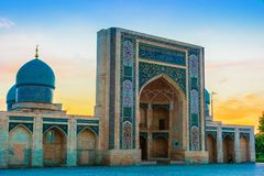 Khast Imam Mosque i Tasjkent, Uzbekistan arkivbild