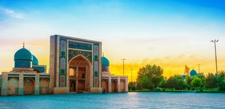 Khast Imam Mosque i Tasjkent, Uzbekistan arkivbilder