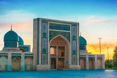 Khast Imam Mosque i Tasjkent, Uzbekistan royaltyfri bild