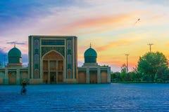 Khast Imam Mosque i Tasjkent, Uzbekistan royaltyfri fotografi