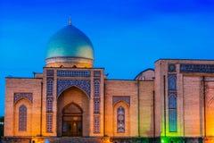 Khast Imam Square i Tasjkent, Uzbekistan royaltyfria foton