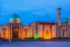 Khast Imam Square i Tasjkent, Uzbekistan arkivfoto