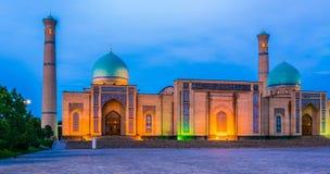 Khast Imam Square i Tasjkent, Uzbekistan royaltyfri fotografi