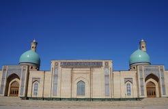 Khast Imam Architectural Complex in Tashkent, Uzbekistan stock image