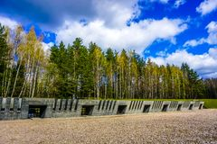 Khatyn Memorial Complex Victims royalty free stock images