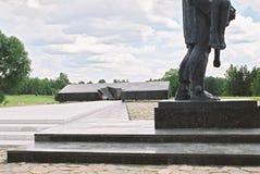 Khatyn Vitryssland, Juli 21, 2008: Minnes- komplex i Khatyn Fotografering för Bildbyråer