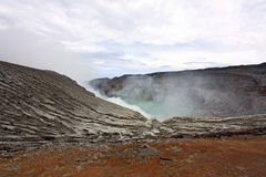 Khava Ijen Java Indonesia. Royalty Free Stock Photo