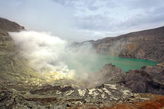 Khava Ijen Java Island Indonesia. Stock Image