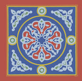 Khayamia阿拉伯民俗的设计 免版税库存照片