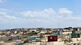 Khayelitsha Township in Cape Town. Khayelitsha was founded in 1985 as one of many townships in South Africa as part of the establishment of the apartheid system stock images