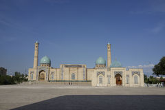 Khazrati Imam Panorama, Tasjkent, Uzbekistan Royaltyfria Foton