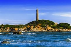 Khe Ga Lighthouse. Royalty Free Stock Images