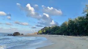 KheaKhea Beach, Pattani Province The sea in Thailand is so beautiful. stock images