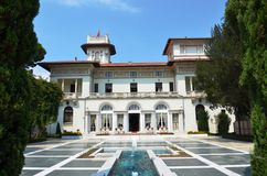 Khedive Pavilion, one of Turkey's most beautiful summer pavilion Royalty Free Stock Images