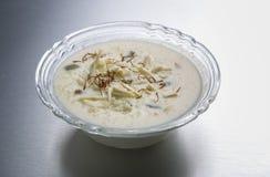Kheer ou riz ou dessert au lait Photos libres de droits