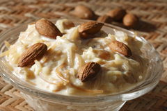 Kheerni is a sweet dish from India Royalty Free Stock Photos