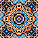 Khemisset kompliziertes nahtloses Muster Lizenzfreies Stockbild
