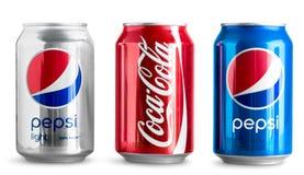 KHERSON, ΟΥΚΡΑΝΙΑ - 11 ΝΟΕΜΒΡΊΟΥ 2014: Pepsi και Στοκ Εικόνα