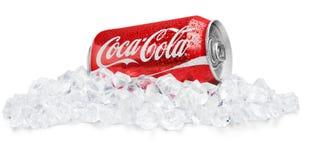 KHERSON, UKRAINE - NOVEMBER 11, 2014: Coca Cola stock photography