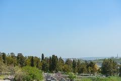 Khersones- Nationaal archeologisch park royalty-vrije stock foto's
