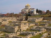 khersonesa ruiny Obrazy Royalty Free
